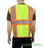 Safety-Yellow  Mesh Safety Vests_SWATCH
