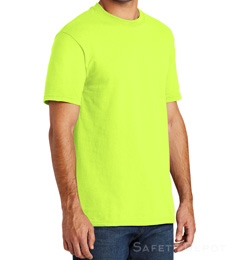 Made in USA  Safety Short Sleeve Tee Shirt THUMBNAIL