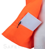 Orange Velcro Safety Vest Mini-Thumbnail