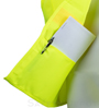 Lime Yellow Velcro Safety Vest_SWATCH