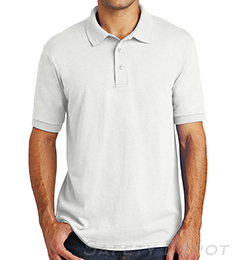 White Collared Safety Shirt THUMBNAIL