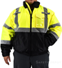 Hi Vis Yellow Safety Jacket SWATCH