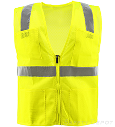 Lime Mesh Safety Vest THUMBNAIL