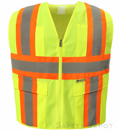 2W International 7048C-2 Safety  Vest THUMBNAIL