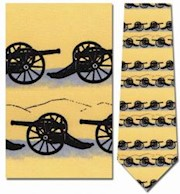 CLASSIC CANNONS SILHOUETTE TIE THUMBNAIL