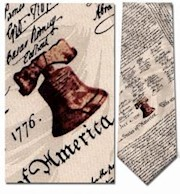 DEC. OF INDEPENDENCE TIE THUMBNAIL