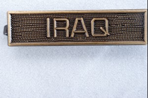 WAR SERVICE BAR-IRAQ LARGE