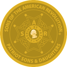 SAR PATRIOT SONS/DAUGHTERS MEDALLION LARGE