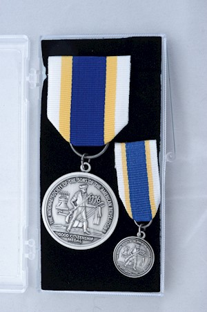 SILVER GOOD CITIZENSHIP MEDAL SET LARGE