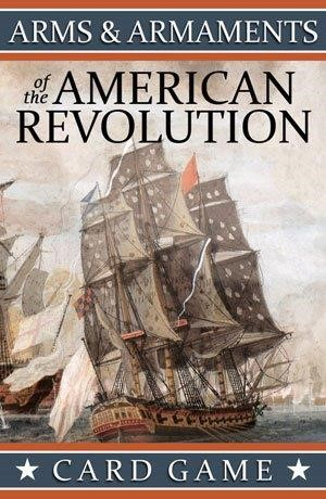 Arms & Armaments of the American Revolution Playing Cards LARGE