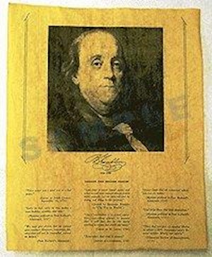 BENJAMIN FRANKLIN PORTRAIT LARGE