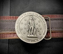 SAR Belt Buckle LARGE
