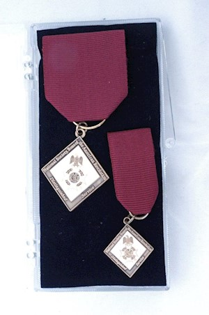CHAPTER DISTINGUISHED SERVICE MEDAL SET LARGE