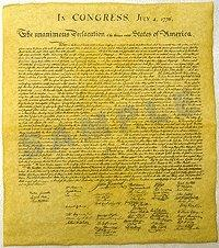 DECLARATION OF INDEPENDENCE MAIN