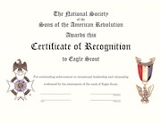 EAGLE SCOUT PRINTED CERTIFICATE (PACK OF 10) THUMBNAIL