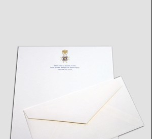 ENGRAVED STATIONERY LARGE