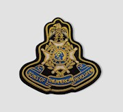 GOLD BULLION BLAZER PATCH THUMBNAIL