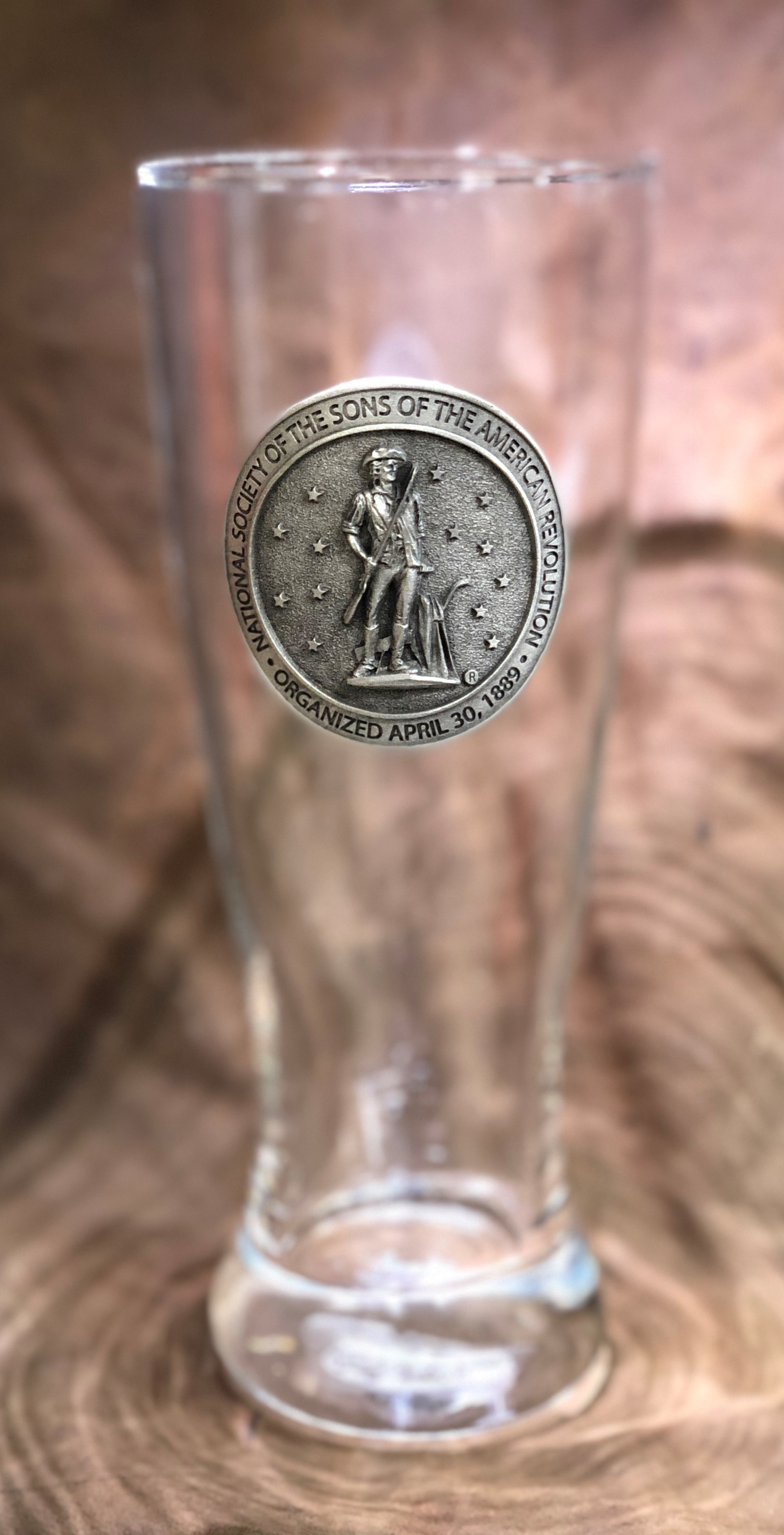 SAR SEAL PILSNER GLASS THUMBNAIL