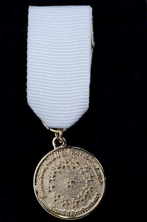 GOLD COUNCIL OF STATE PRES. MEDAL SET LARGE