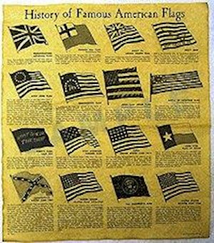 HISTORY OF FAMOUS AMERICAN FLAGS LARGE