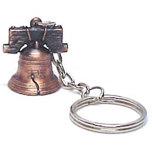 LIBERTY BELL KEY CHAIN LARGE