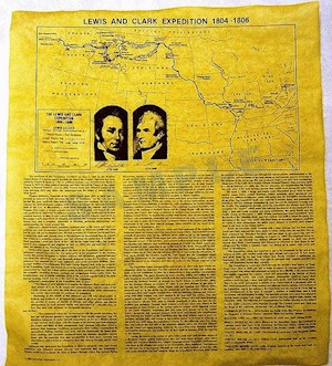 MAP-LEWIS & CLARK EXPEDITION LARGE