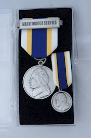 MERITORIOUS SERVICE MEDAL SET THUMBNAIL