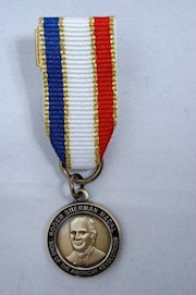 MINI BRONZE ROGER SHERMAN MEDAL THUMBNAIL