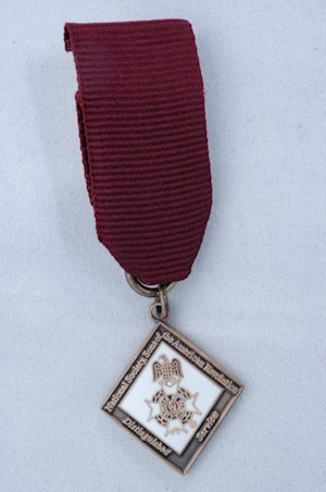MINI CHAPTER DISTINGUISHED SERVICE MEDAL LARGE