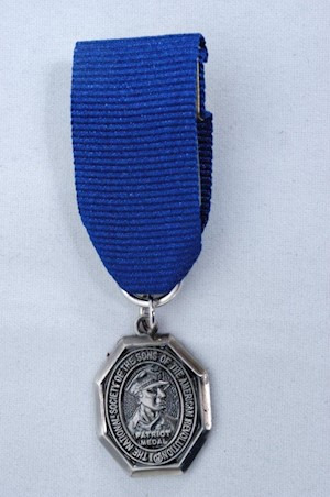 MINI PATRIOT MEDAL LARGE