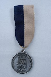 MINI SILVER COLOR GUARD MEDAL THUMBNAIL