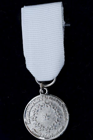 SILVER COUNCIL OF STATE PRES MEDAL SET LARGE