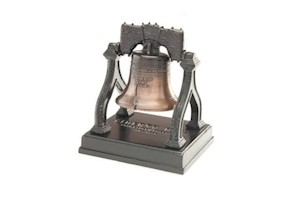 SMALL LIBERTY BELL LARGE