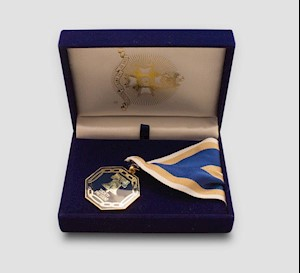 SOCIETY PRESIDENT'S MEDALLION LARGE