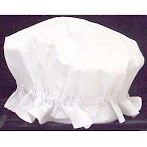 TOY-COLONIAL MOB CAP WHITE LARGE