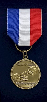 Service to Veterans Medal Certificate THUMBNAIL