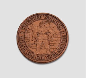 WOUNDED WARRIOR COIN LARGE
