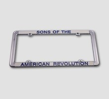 LICENSE PLATE FRAME LARGE