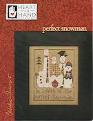 Heart In Hand Needleart - Perfect Snowman THUMBNAIL