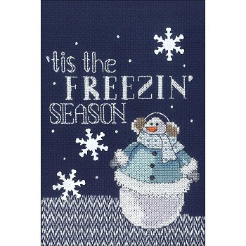 Janlynn Cross Stitch Kit - Freezin' Season MAIN