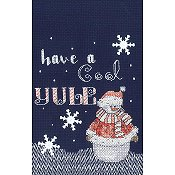 Janlynn Cross Stitch Kit - Cool Yule