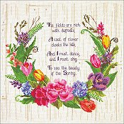 Janlynn Cross Stitch Kit - Spring Sentiments