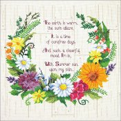 Janlynn Cross Stitch Kit - Summer Sentiments_THUMBNAIL
