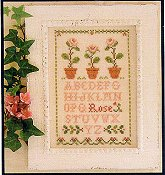 Little House Needleworks - Rose Sampler