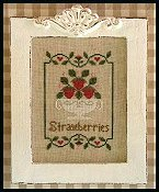 Country Cottage Needleworks - Summer Strawberries THUMBNAIL