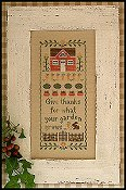 Country Cottage Needleworks - Harvest Blessings