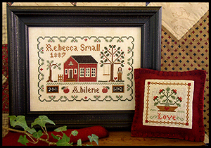 Little House Needleworks - Dear Diary (Rebecca Small, 1887) MAIN
