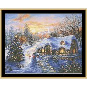 Mystic Stitch - Christmas Cottage