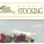 Shepherd's Bush - Anna's Stocking Embellishment Pack