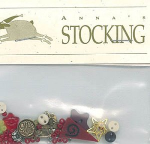 Shepherd's Bush - Anna's Stocking Embellishment Pack MAIN